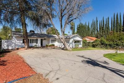 Tarzana Single Family Home For Sale: 6061 Shirley Avenue