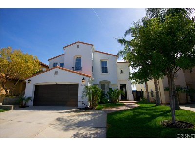 Stevenson Ranch Single Family Home For Sale: 26156 Twain Place