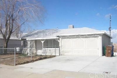 Palmdale Single Family Home For Sale: 145 Pictorial Street