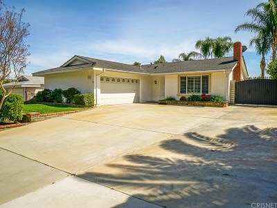 Los Angeles County Single Family Home For Sale: 22960 Mulberry Glen Drive
