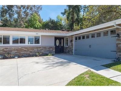 Woodland Hills Single Family Home For Sale: 5842 Serrania Avenue