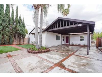 Sylmar Single Family Home For Sale: 14984 Astoria Street
