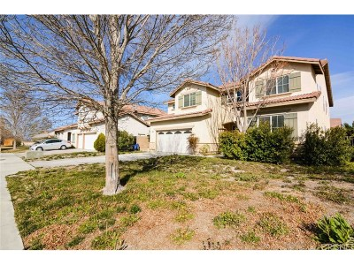 Lancaster Single Family Home For Sale: 43724 Windrose Place