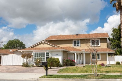 Simi Valley CA Single Family Home For Sale: $624,900