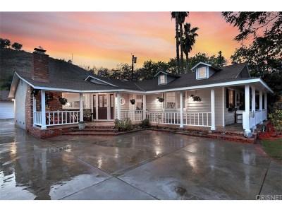 Shadow Hills Single Family Home For Sale: 10429 Wheatland Avenue