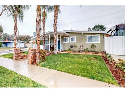 Saugus Single Family Home For Sale: 27546 Santa Clarita Road