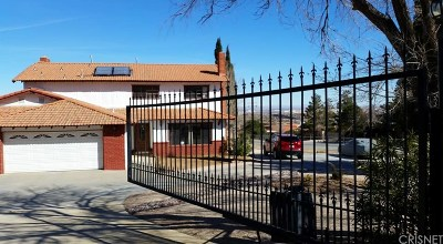 Palmdale Single Family Home For Sale: 603 Barrel Springs Road