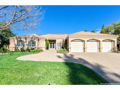 Westlake Village Single Family Home Sold: 4228 Saddlecrest Lane