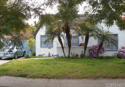 Los Angeles County Single Family Home For Sale: 10456 Almayo Avenue