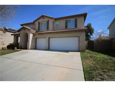 Palmdale Single Family Home For Sale: 40210 Vista Ridge Drive
