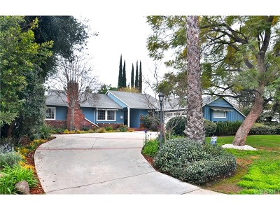 Encino Single Family Home For Sale: 16544 Hartsook Street