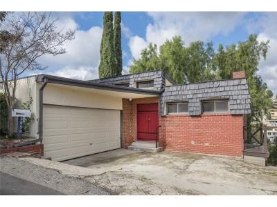 Sherman Oaks Single Family Home For Sale: 3939 Glenridge Drive
