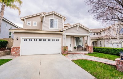 Valencia Single Family Home For Sale: 23320 Gleneagle Court