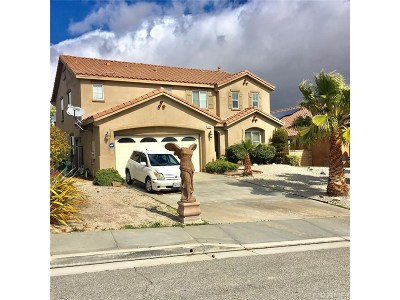 Palmdale Single Family Home For Sale: 37319 Verbena Court