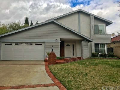 Newhall Single Family Home For Sale: 23731 Adamsboro Drive