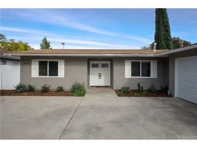 Valley Village Single Family Home For Sale: 4928 Whitsett Avenue