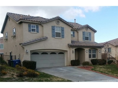 Palmdale Single Family Home For Sale: 38659 Panther