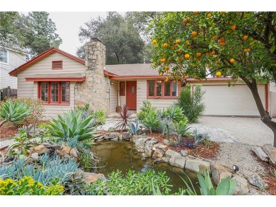 Ojai Single Family Home For Sale: 166 South Poli Street