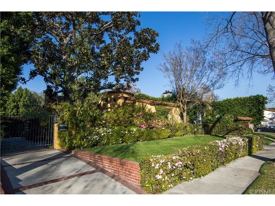 Toluca Lake Single Family Home For Sale: 10431 Whipple Street