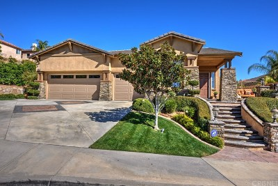Saugus Single Family Home For Sale: 28318 Incline Lane