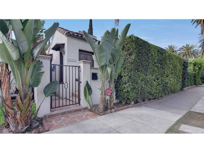 Los Angeles County Single Family Home For Sale: 7262 Willoughby Avenue