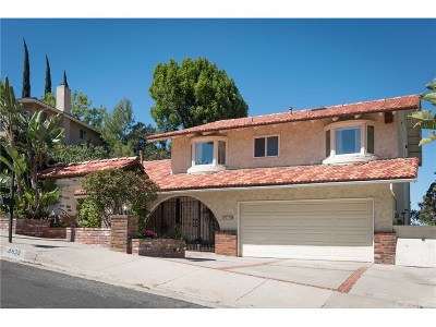 Tarzana Single Family Home For Sale: 4639 Ellenita Avenue