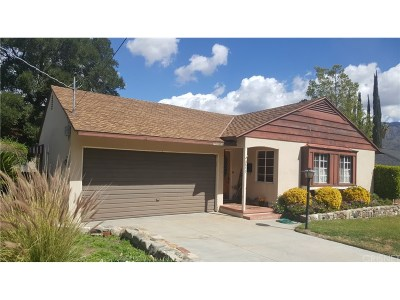 Sunland Single Family Home For Sale: 8657 Apperson Street