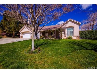 Palmdale Single Family Home For Sale: 5731 Avenida Esplendida