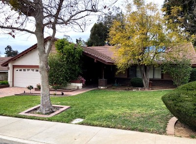 Simi Valley Single Family Home For Sale: 1643 Meander Drive
