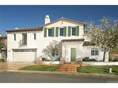 Simi Valley CA Single Family Home For Sale: $999,999
