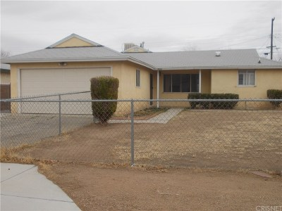 Palmdale Single Family Home For Sale: 38644 32nd Street East