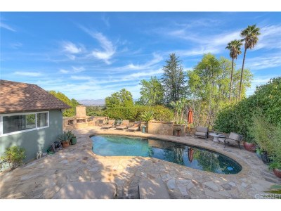 Encino Single Family Home For Sale: 16640 Chaplin Avenue