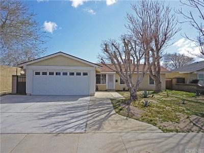 Lancaster Single Family Home For Sale: 43016 Guyman Avenue