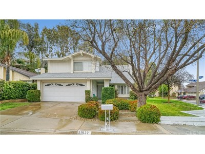 Saugus Single Family Home For Sale: 21927 Scallion Drive