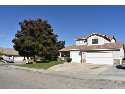 Lancaster Single Family Home For Sale: 42116 Pleasant View Drive