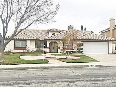 Quartz Hill CA Single Family Home For Sale: $389,000