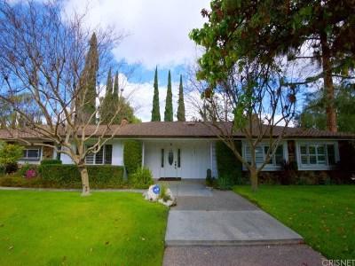Northridge Single Family Home For Sale: 19501 Merridy Street