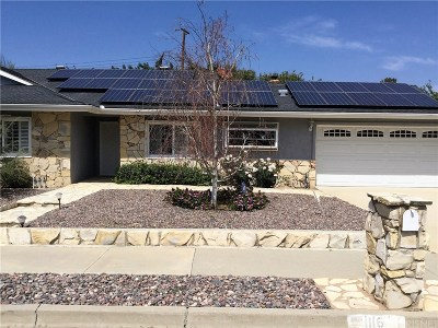 Simi Valley Single Family Home For Sale: 1116 Lundy Drive