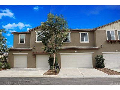 Los Angeles County Condo/Townhouse For Sale: 28504 Pietro Drive