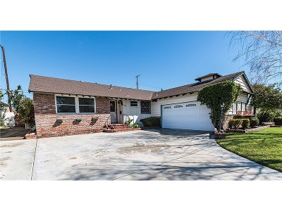 Northridge Single Family Home For Sale: 19545 Bryant Street