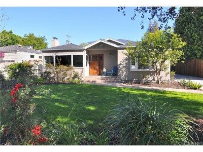 Valley Village Single Family Home For Sale: 11815 Hesby Street