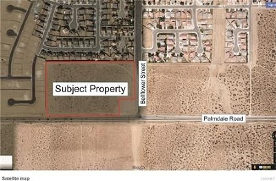 Adelanto Residential Lots & Land For Sale: 11275 Palmdale Road