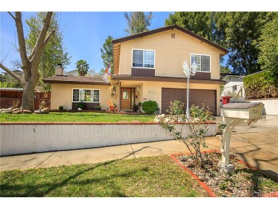 Saugus Single Family Home For Sale: 27307 Catala Avenue