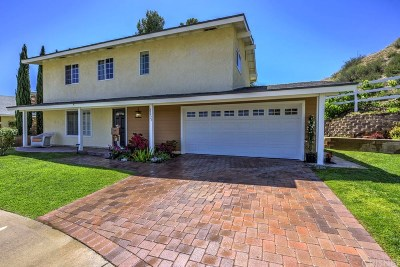 Saugus Single Family Home For Sale: 21515 Winterset Drive