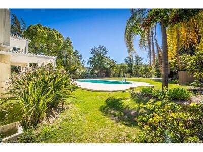 Tarzana Single Family Home For Sale: 18900 Pasadero Drive