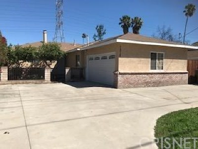Los Angeles County Single Family Home For Sale: 7318 Wilbur Avenue