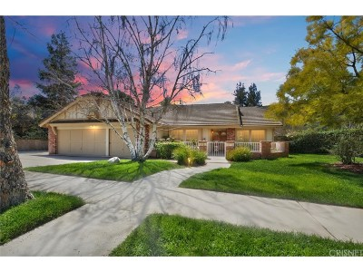 Simi Valley Single Family Home For Sale: 510 Aqueduct Court