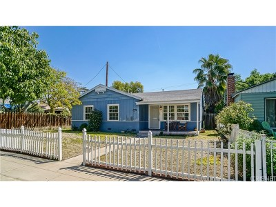 Burbank CA Single Family Home Sold: $757,500