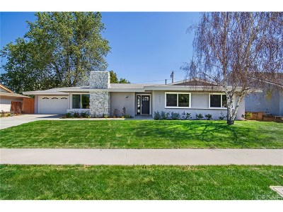 Simi Valley Single Family Home For Sale: 1192 El Monte Drive