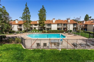 Calabasas Condo/Townhouse For Sale: 5536 Las Virgenes Road #128